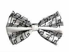 Tuxedo Classic Music Note BowTie Neckwear Adjustable Men's Bow Tie