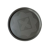 "14.5"" Pizza Pan Perforated Carbon Steel Non-stick Pizza Tray Bake Serving Plate"