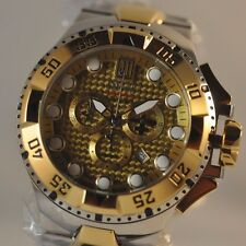 New Mens Invicta 18333 Jason Taylor Excursion Swiss Chronograph Two Tone Watch