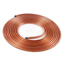 Copper Tubing 1/4 in x  50 ft for HVAC Refrigeration ACR coil tube roll