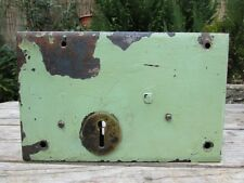 LARGE RECLAIMED VINTAGE METAL RIM LOCK / DOOR LOCK