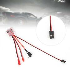 1x RC ESC 10A Brushed Reverse Motor Electric Speed Controller for RC Car Boat TR