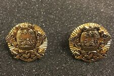 DRAGON CREST WITH ARROWS CUFF LINKS pat.2472958 Vintage RARE