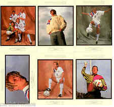 1994 World Cup Soccer World Cup USA 94 Gallery Card Full Set (6)