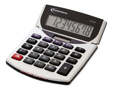 Innovera 15925 Portable Minidesk Calculator Battery Solar Math Desk