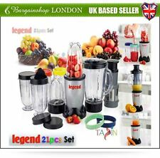 MULTI BLENDER JUICE MAKER FOOD PROCESSOR 21PC LIQUID MIXER CHOPPER GRATE LEGEND
