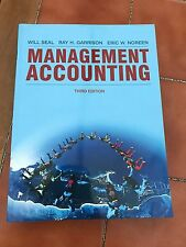 Management Accounting Third Edition Will Seal Ray Garrison And Eric Noreen