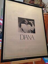 """SET OF 3 BIG 11X14 FRAMED """"DIANA ROSS TRIO"""" - LP ALBUM CD 45 PROMO ADS"""