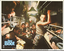 DAS BOOT/THE BOAT original WW2 SUBMARINE lobby card movie poster JURGEN PROCHNOW