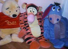 Winnie Pooh,Esel,Tigger,Disney,Stofftier,Sammlung,Kissen,XL,ca70 cm,Plüsch