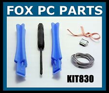 Replacement Micro USB Kit Solder Wick Opening Tools Charge Port for Kindle Fire