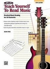Alfred's Teach Yourself to Read Music for Guitar: Practical Music Reading for...
