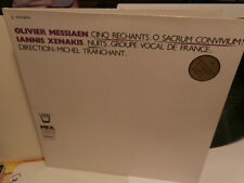 "iannis xenakis/olivier messiaen""cinq rechants.""lp12""or.fr.arion:arn38775 de 1984"