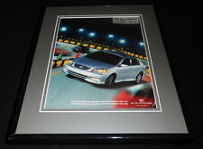2003 Toyota Corolla Framed 11x14 ORIGINAL Vintage Advertisement