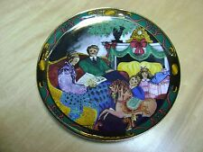 "1995 Royal Copenhagen Colorful Christmas Tales Plate ""JULEEVENTYR"""