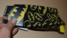 DC Comics Batman Logo Socks Officially Licensed Mens Crew Shoe Size 6-12