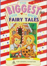 THE BIGGEST EVER FAIRY TALES - 2 HOURS! - NEW & SEALED DVD FREE LOCAL POST