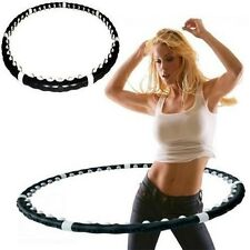 Fitness magentic Hula Hoop Massaggio ponderato esercizio ABS Workout HOOLA DANCE Fit