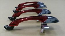 Red Chrome Iron Man Door Handle for Chrysler 300C 05-10,Magnum 05-08, Charger 07