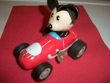 MICKEY MOUSE ON A RACECAR RETRO WIND UP TOY - NEW