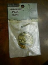 BOY SCOUT GUADALUPE PEAK SUMMITEER HIKING STAFF MEDALLION #24096(NEW IN PACKAGE)