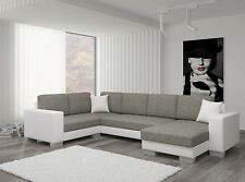 WOHNLANDSCHAFT COUCH SOFA MARK U-FORM POLSTERGARNITUR COUCHGARNITUR TOP
