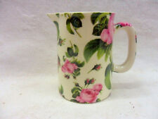June Rose chintz cream jug pitcher jug by Heron Cross Pottery