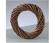 Dark Natural Willow Christmas Wreath Base - 30cm | Floristry Craft Supplies