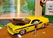100% HOT WHEELS 1970 DODGE CHALLENGER T/A 340 SIX PAK LIMITED EDITION 1/64