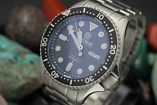Men's DEEP BLUE Precision Diver Automatic 300M Stainless Steel Diver's Watch