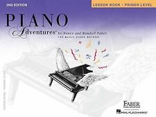 Piano Adventures Lesson Book, Primer Level (Paperback – Box set) by Nancy Faber