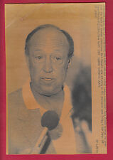 "Pete Rozelle Sept.2, 1989  ""Death of Bart Giamatti"" Examiner Library 2 AP LEAFAX"