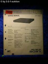 Sony Service Manual TT V8EC Tuner Timer Unit (#1956)
