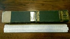 A.G THORNTON SLIDE RULE NO 121 PAT 411090 IN ORIGINAL CASE,SCIENTIFIC INSTRUMENT