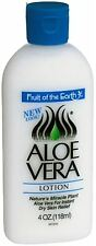 Fruit of the Earth Aloe Lotion Skin Cooling 4 oz (Pack of 8)