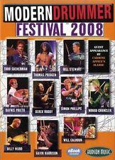 Tambor Dvd X 4: Modern Drummer Festival 2008 tambores Fest 06
