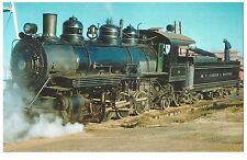 POSTCARD US TRAIN - THE W.T. CARTER & BROTHER RAILWAY