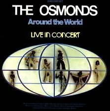 Around the World: Live in Concert by The Osmonds (CD, Jul-2012, 2 Discs, 7T's)