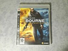 THE BOURNE CONSPIRACY SONY PS3 PLAYSTATION PAL ITA ITALIANO COMPLETO COME NUOVO