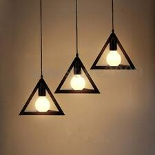 Vintage Retro Industrial Pendant Ceiling Light Lamp Loft Cafe Hanging Chandelier