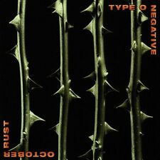 "TYPE O NEGATIVE ""OCTOBER RUST"" CD GOTHIC METAL NEW!"