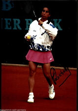 Florencia Labat TOP GF Orig. Sign. Tennis + G 5734