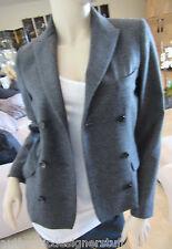 Auth ISABEL MARANT Etoile Gray Wool Jacket, Blazer, Size 0
