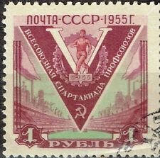 Russia Sport Soviet Marxist Spartacist League Game stamp 1956