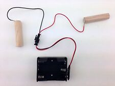 Pinball Remote Battery Holder $8 each (Qty 3)– EZ Plug in.  Protect your boards!
