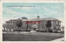1941 PLYMOUTH WI Community Hospital, 40 beds, Kropp, to Miss Esther Stein