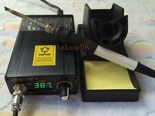 digital Soldering Iron Station Adjustable Temperature Welding Solder +T12 Handle