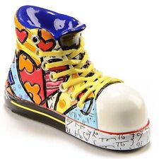 ROMERO BRITTO 'Shoe / Sneaker', 2015 Miniature Sculpture / Figurine Mini **NEW**
