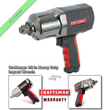 "1/2"" Craftsman Impact Wrench Air Tool Heavy Duty Hammer Torque Wrenches Tools"