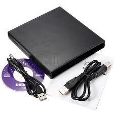 USB IDE Notebook CD DVD RW Burner ROM Drive External Case Enclosure Laufwerke